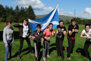 International Summer Language Camps in Scotland for young people @ The Dolphin House - Culzean Castle and Country Park | Scotland | United Kingdom