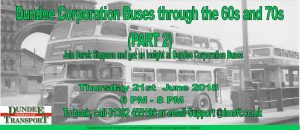 Museum Talk: Derek Simpson, Dundee Corporation Buses @ DUNDEE MUSEUM OF TRANSPORT | Scotland | United Kingdom