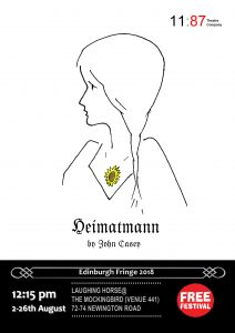 Heimatmann @ Mockingbird venue 441 Edinburgh Free Festival | Scotland | United Kingdom