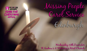 Missing People Carol Concert @ St Andrew's and St George's West Church