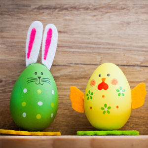 Kids Easter Egg Painting Workshop @ Restoration Yard