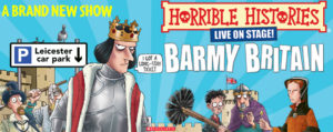 Horrible Histories: Brand New Barmy Britain @ Perth Theatre