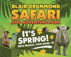 'Big Spring Fling at Blair Drummond Safari Park' @ Blair Drummond Safari & Adventure Parl