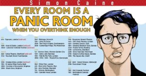 Simon Caine - Every Room Is A Panic Room when you overthink enough @ The Lemon Tree