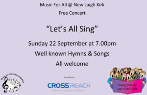 Let's All Sing @ New Laigh Kirk