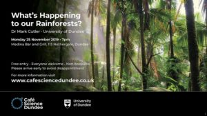 Café Science Dundee: What's Happening to our Rainforests? @ Medina Bar and Grill
