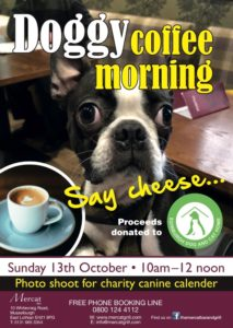Canine Coffee Morning with Doggy Photoshoot! @ The Mercat Grill
